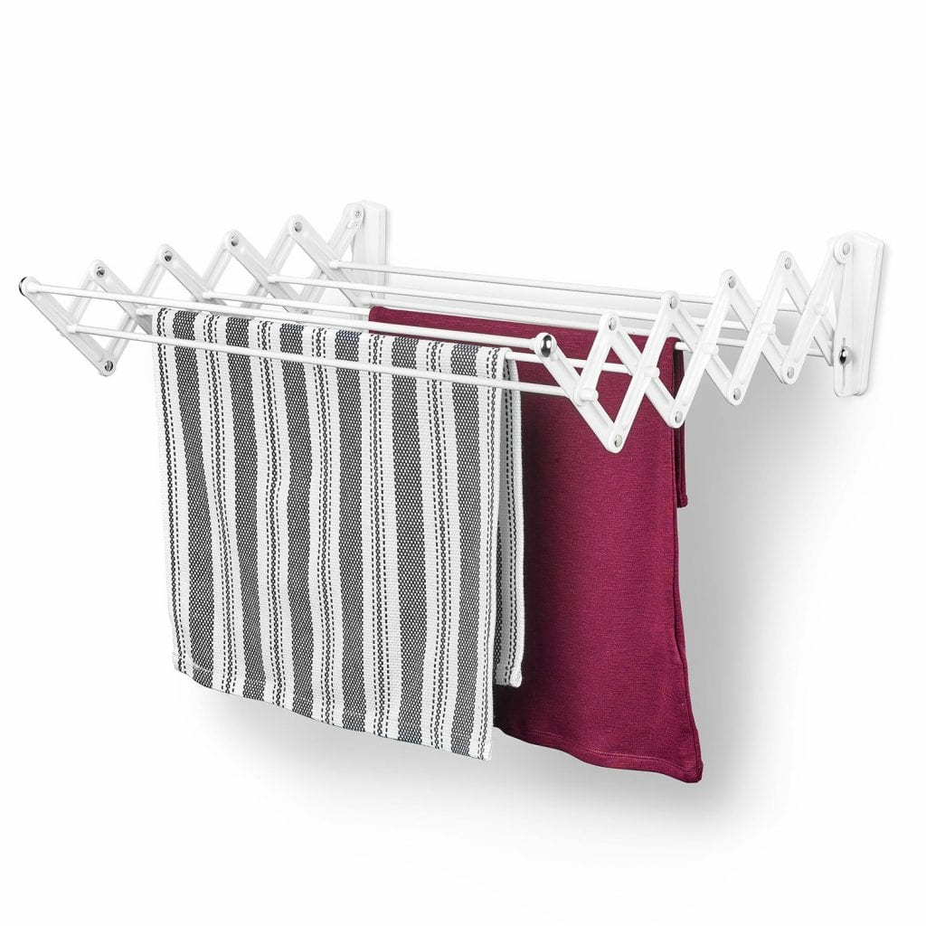 Polder Wall-Mount 24-Inch Clothes Dryer
