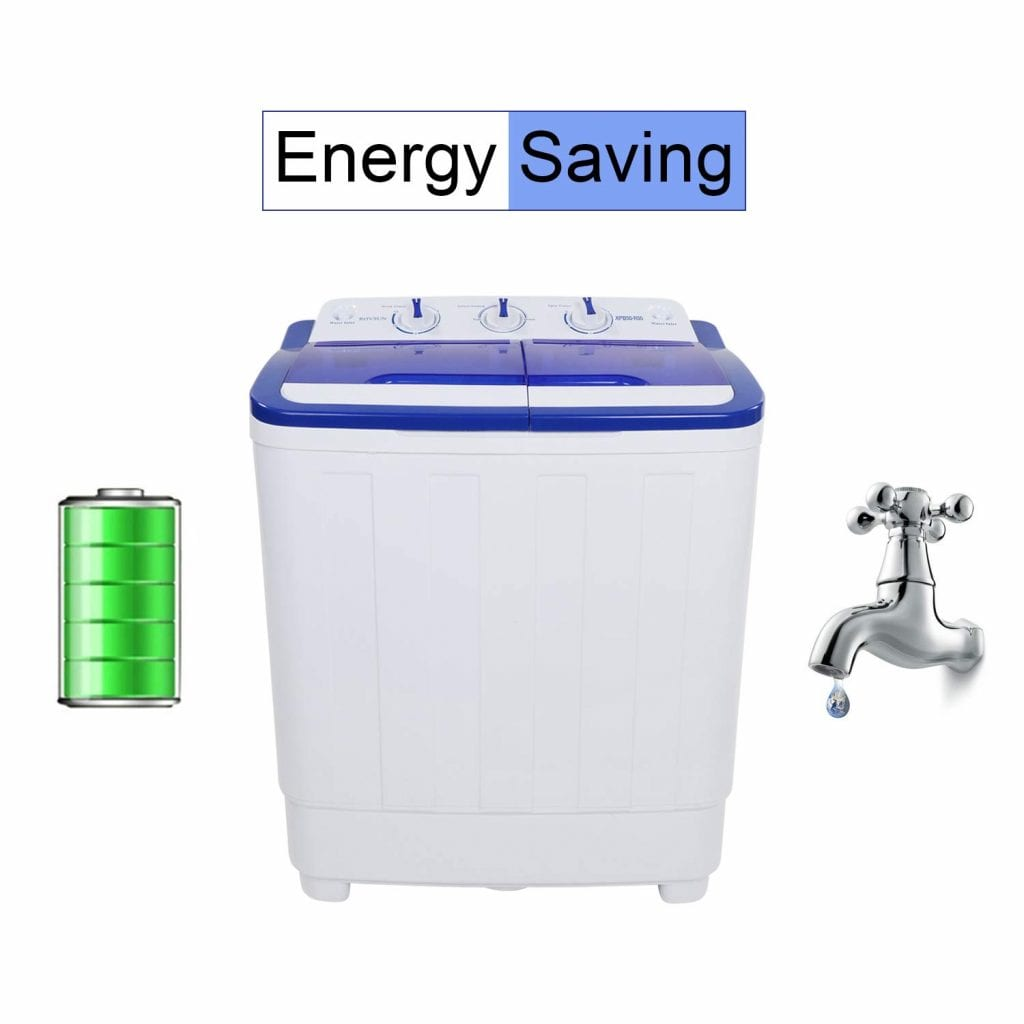 ROVSUN 16.6LBS Portable Washing Machine