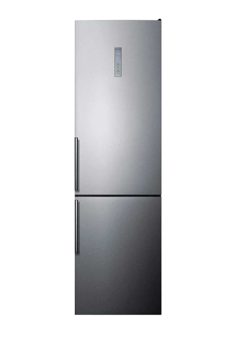 Summit FFBF192SS 24'' Counter Depth Bottom Freezer Refrigerator