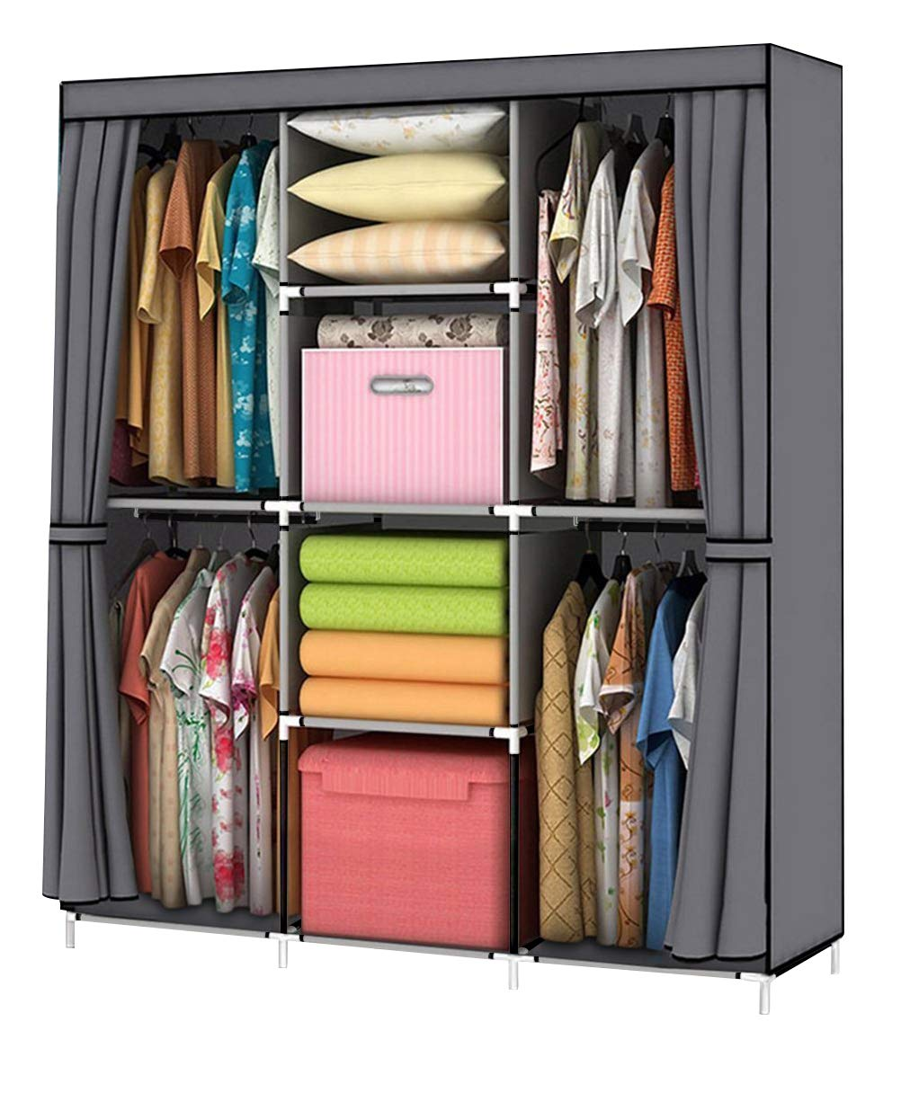 YOUUD Wardrobe Storage Closet