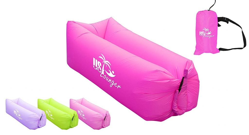 Air Lounger Portable Fast Inflatable Lounger from US Lounger