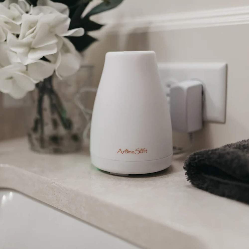 AromaSoft Oil Diffuser by Fine Line Living