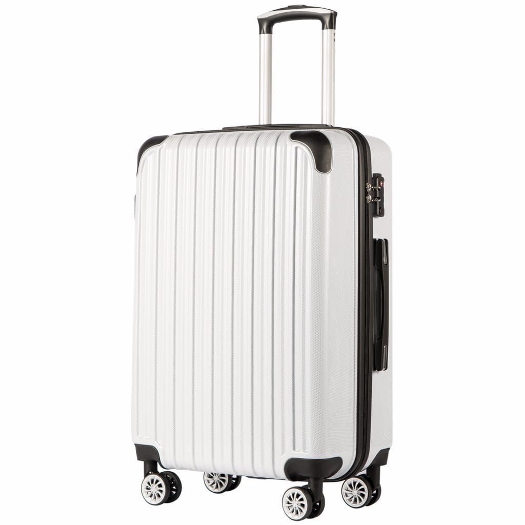 "COOLIFE Luggage Expandable(only 28"") Suitcase"
