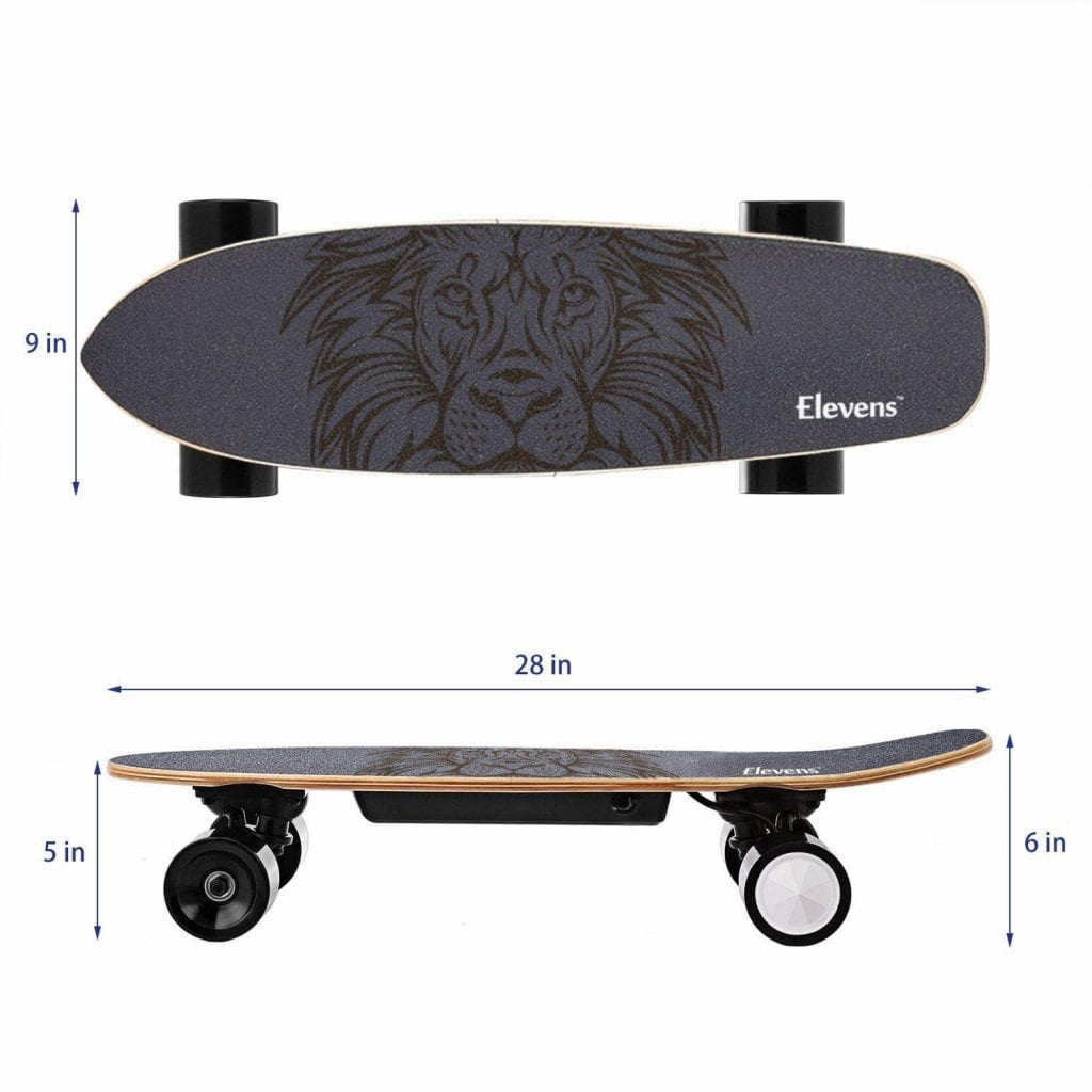 H&A 28 Electric Longboard Skateboard