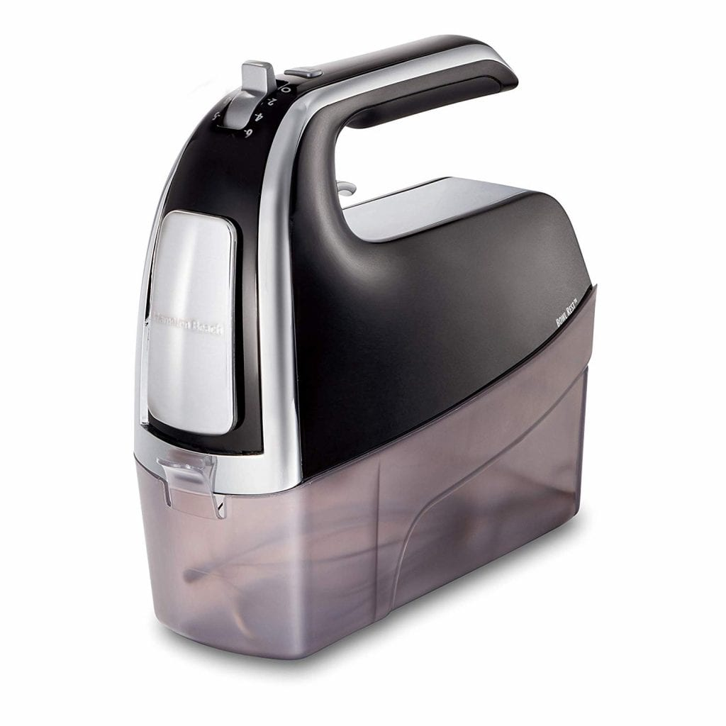 Hamilton Beach 6-Speed Electric Hand Mixer with Snap-On Case
