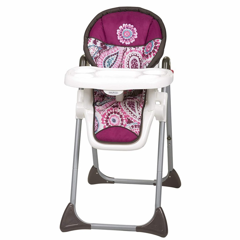 Paisley Baby Trend High Chair