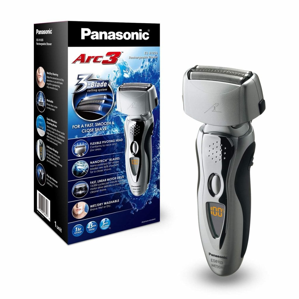 Panasonic Electric Shaver and Trimmer for Men ES8103S Arc3
