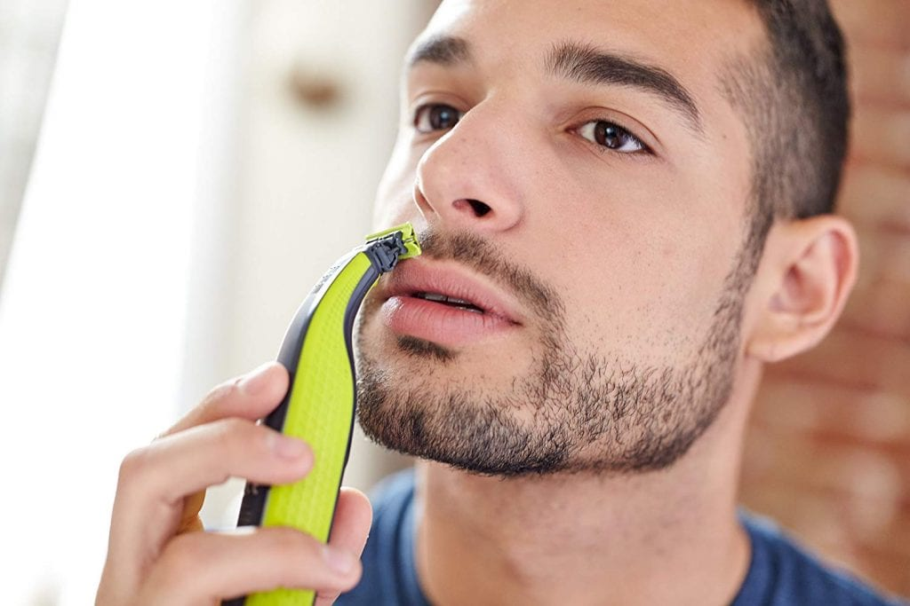 Philips Norelco OneBlade hybrid electric trimmer and shaver