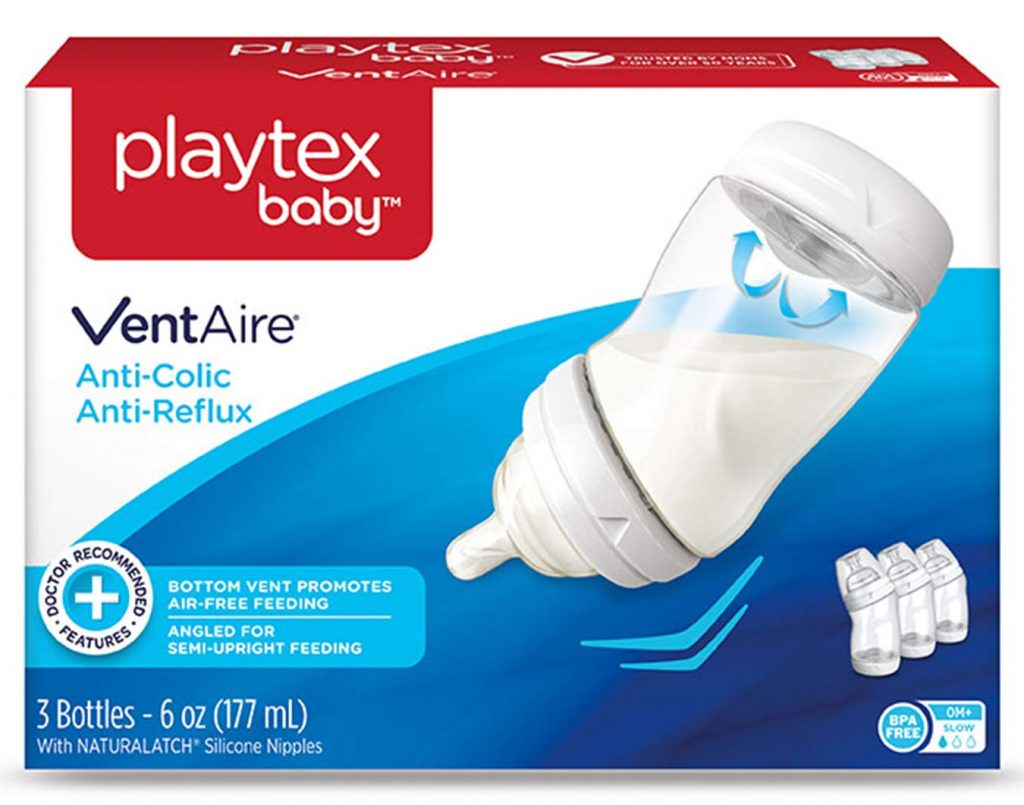 Playtex 05226 Baby Ventaire Anti Colic Baby Bottle