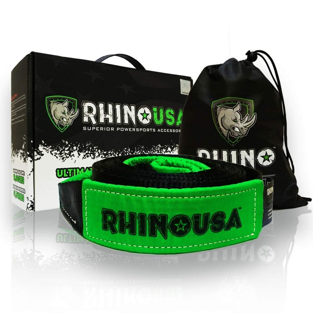 "Rhino USA Recovery Tow Strap 3"" x 30ft"