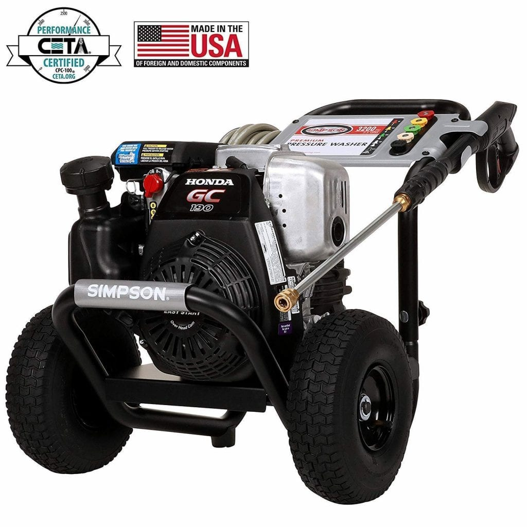 SIMPSON Cleaning MSH3125 Pressure Washer