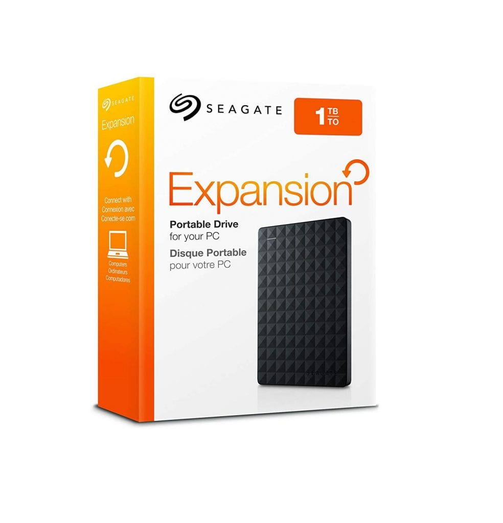 Seagate Expansion Portable 1TB External Hard Drive