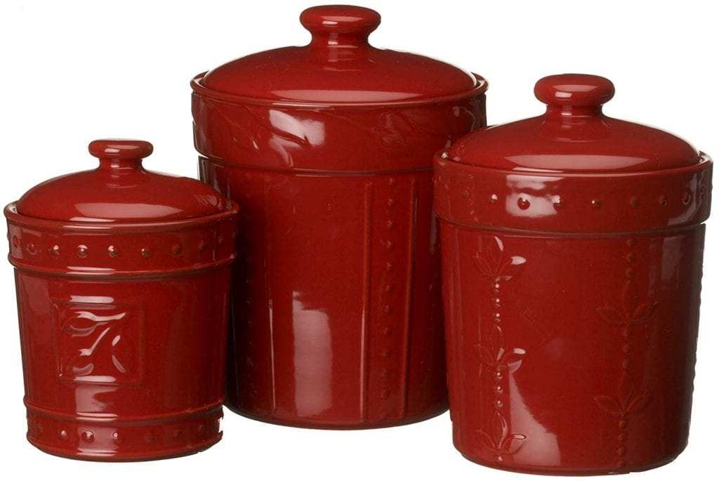 Signature Housewares Sorrento Collection Canisters