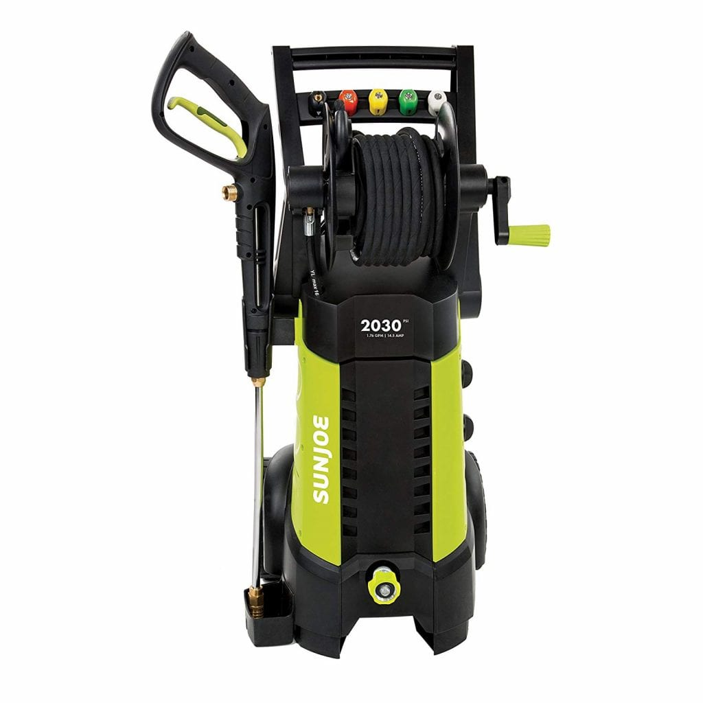 Sun Joe SPX3001 2030 PSI Pressure Washer, Green