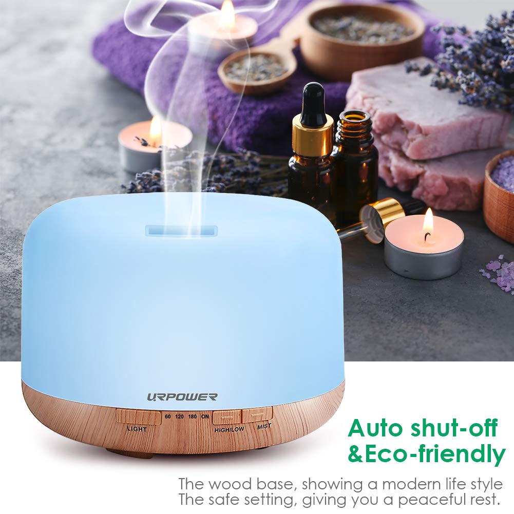 URPOWER OD-501 500ml Aromatherapy Essential Oil Diffuser