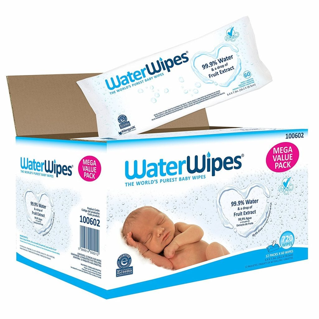 WaterWipes Sensitive Baby Wipes, 720 Count