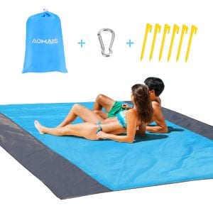 Aomais Beach Blanket Sandfree Large