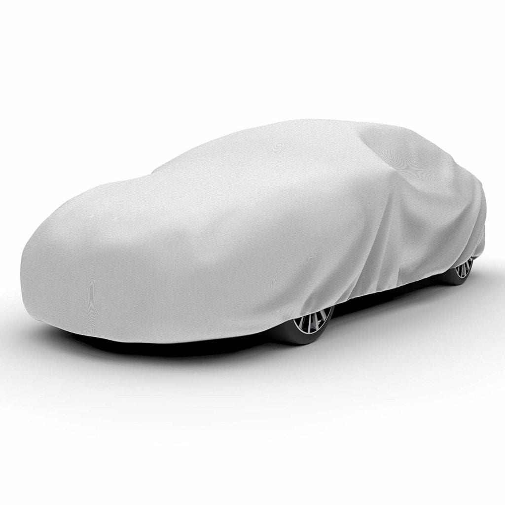 Water Resistant Car Cover Size L-Fits up to 190-Inch Motor Trend OC-543 All Season Weather Wear 1-Poly Layer Snow Proof