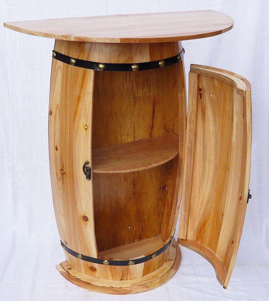 DanDiBo Sideboard Table Wine Barrel