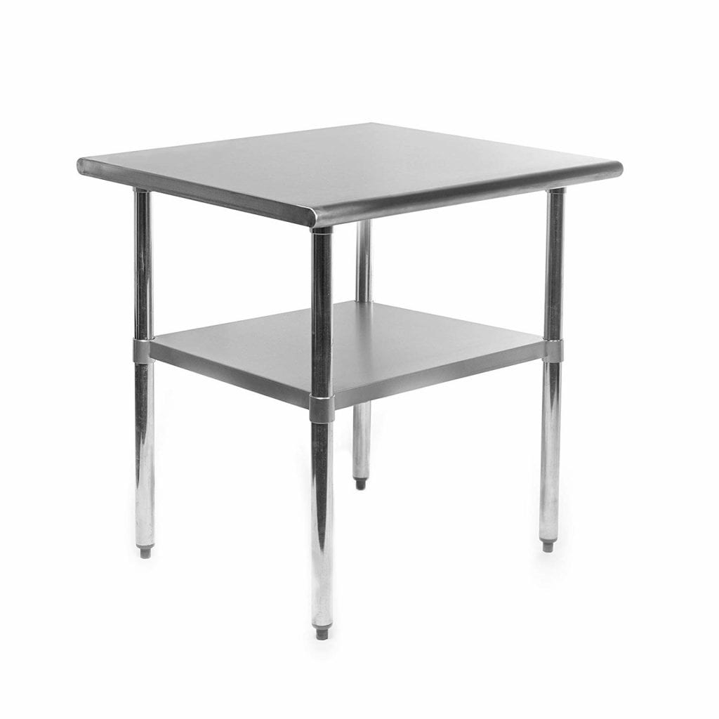 GRIDMANN NSF Stainless Steel Table - 30x24 in.