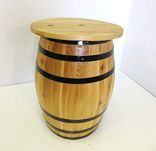Master Garden Products Whiskey Barrel Table