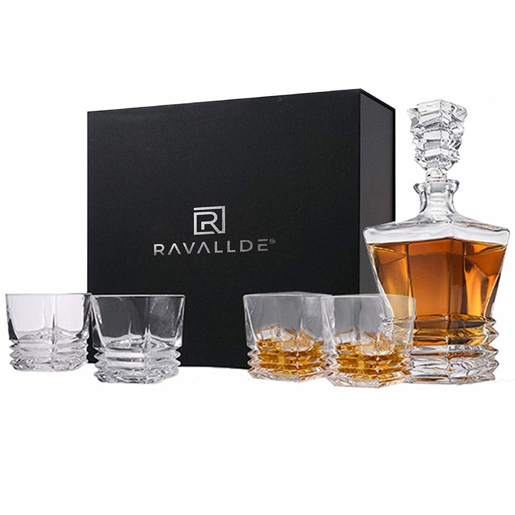 Pacific Whiskey Decanter Gift Set