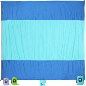 Wekapo Beach Blanket Compact And Sandfree
