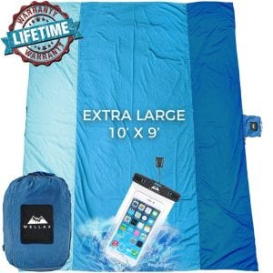 Wellax Sandfree Beach Blanket Sandproof