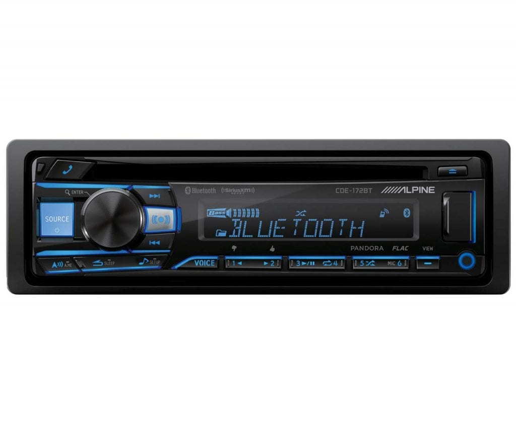 Alpine CDE-172BT Bluetooth Receiver