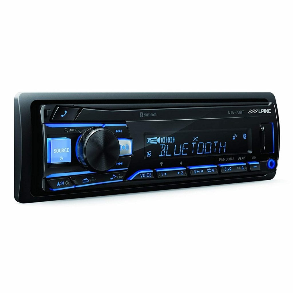 Alpine UTE-73BT Advanced Bluetooth Receiver