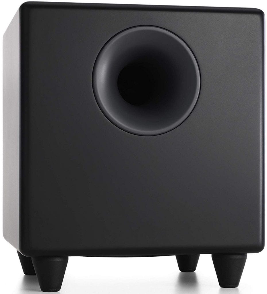 Audioengine S8 250W Wireless Subwoofer with an in-built Amplifier (Black)