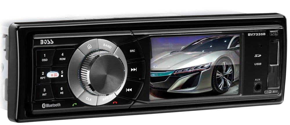 Boss Audio Single Din, Bluetooth Car Stereo