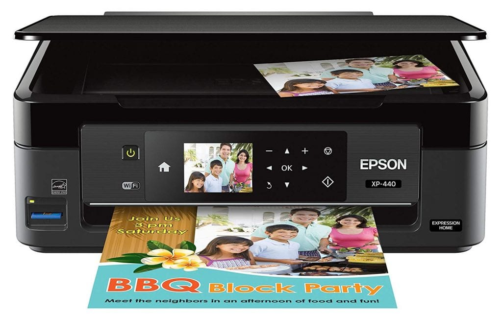Epson Expression All-in-One Inkjet Printer