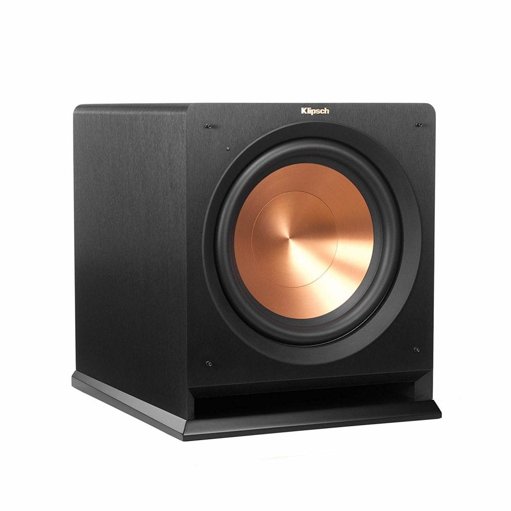 Klipsch Reference R-112SW Wireless Subwoofer, Black