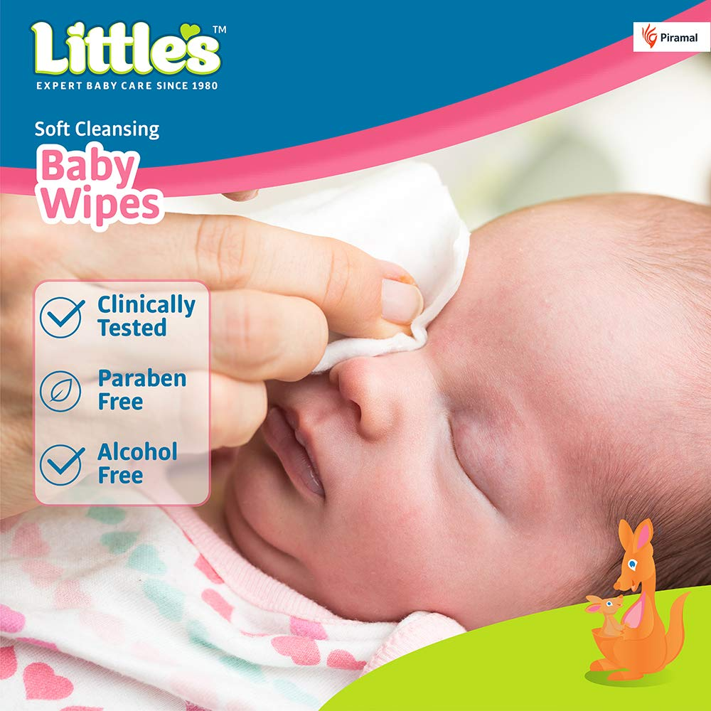 Little's Soft Cleansing Baby Wipes with Aloe Vera