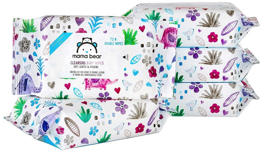Mama Bear Cleansing Baby Wet Wipes