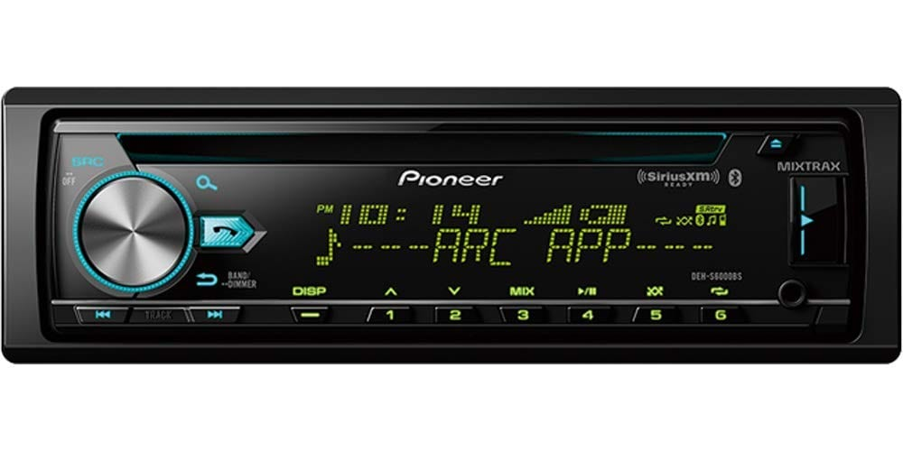Pioneer DEH S6000BS CD Receiver with Bluetooth