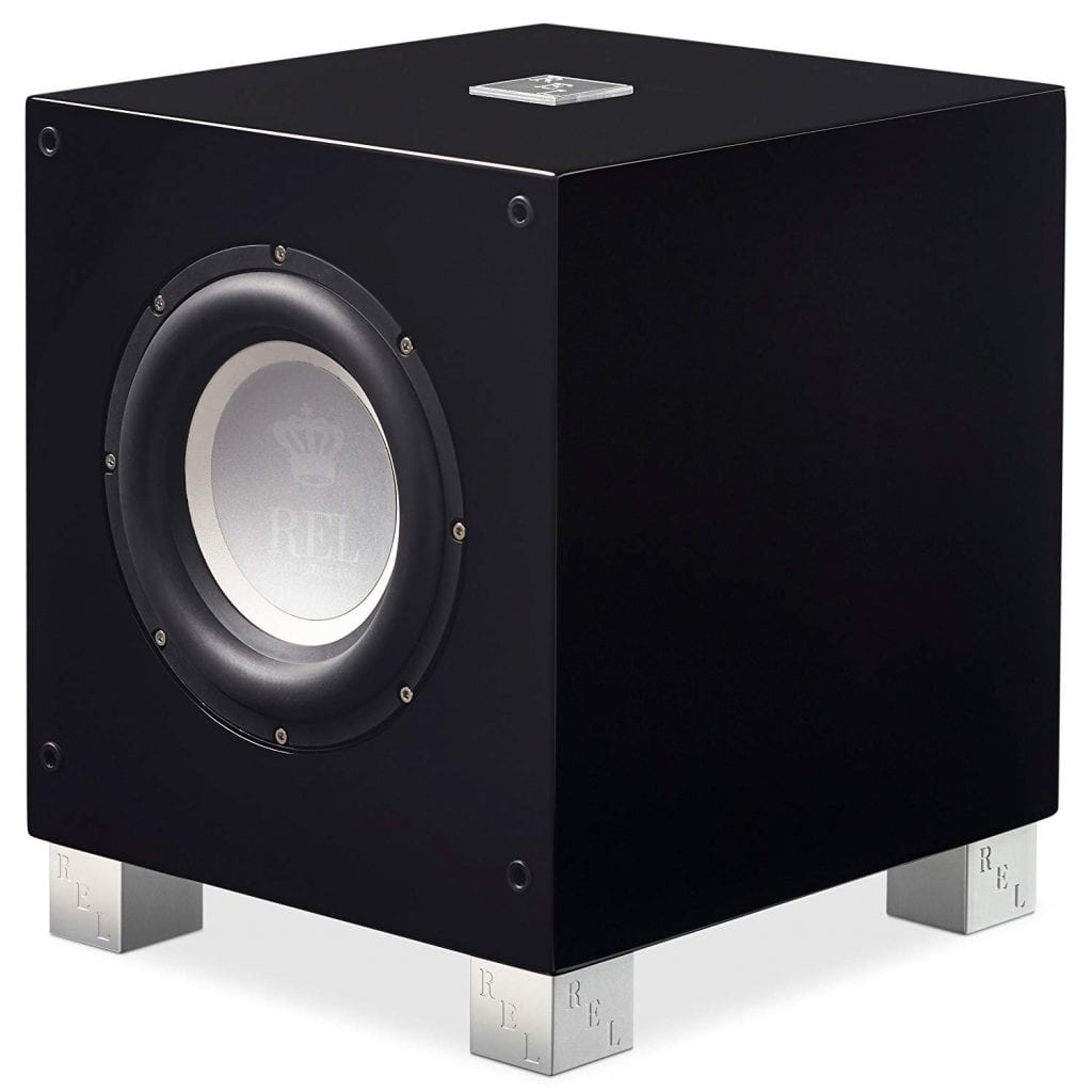 REL Acoustics T/7i Wireless Subwoofer, High Gloss Black