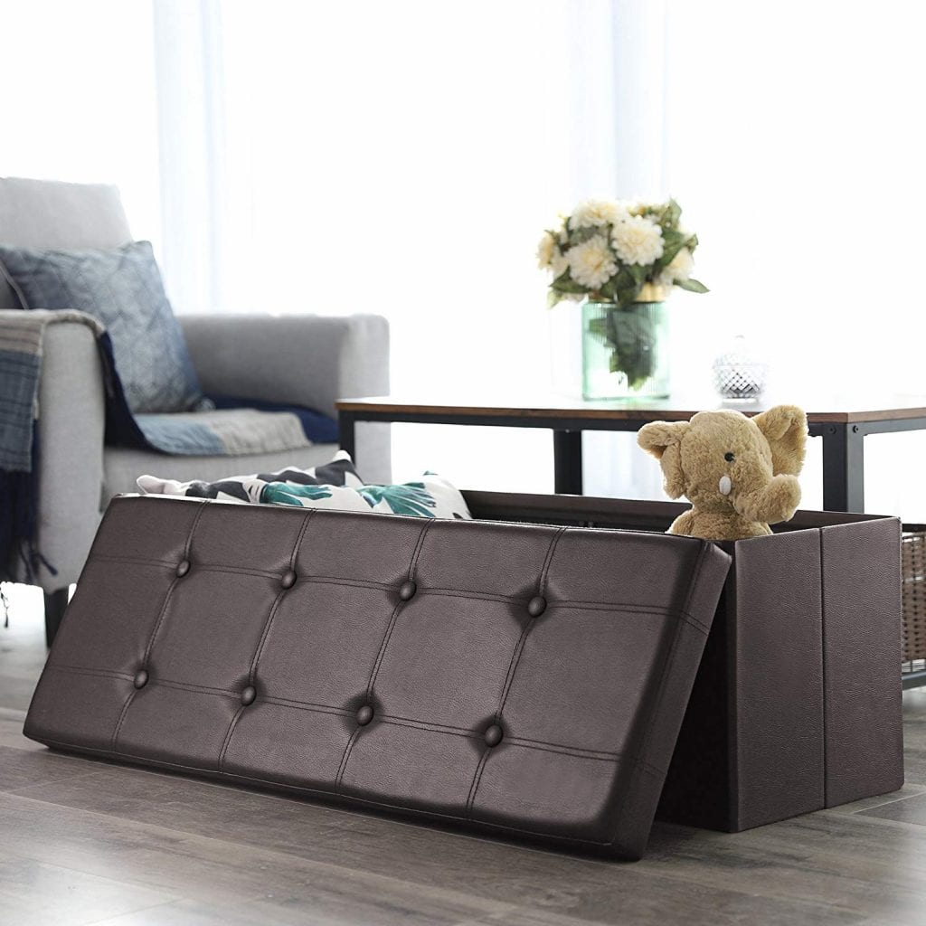 SONGMICS 43 Inches Ottoman Bench