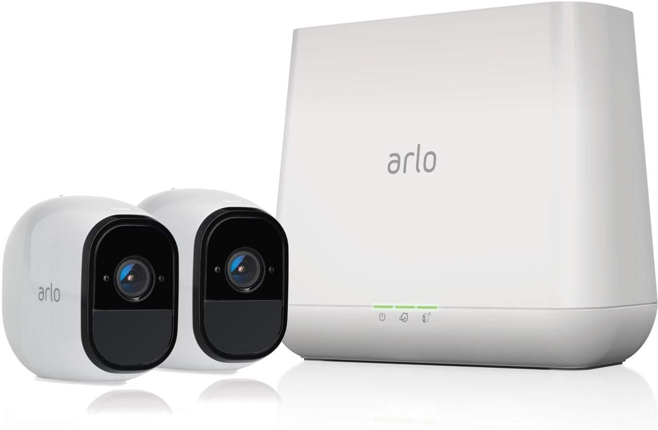 Arlo Pro - Wireless Home Security Camera -2 camera set