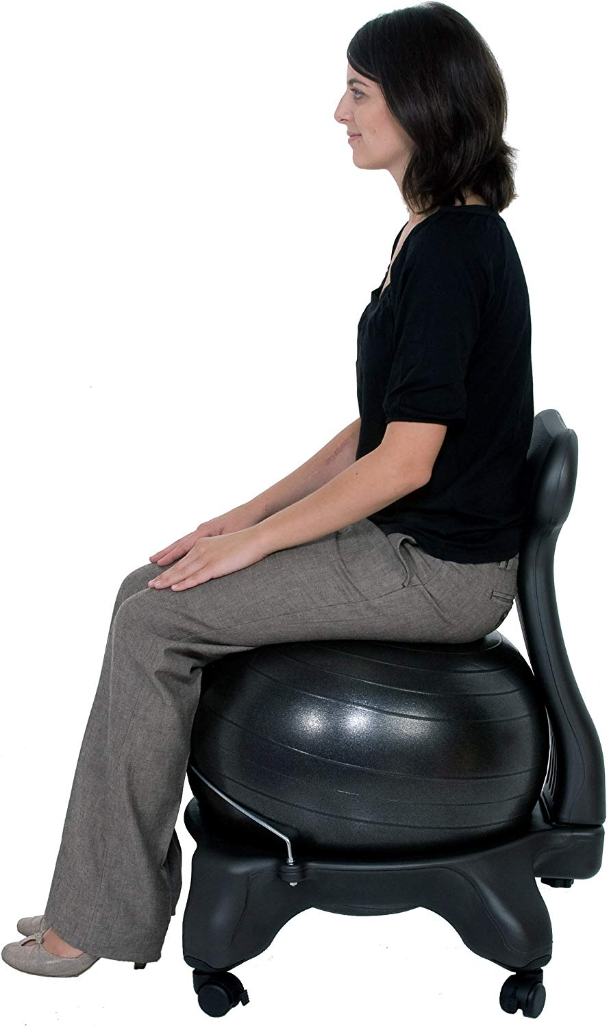 Balance Exercise Ball Chair by Isokinetics Inc.