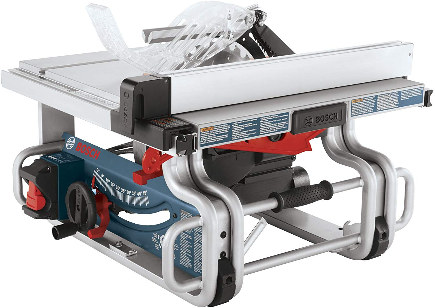 Bosch Portable 10 Inch Jobsite One-Handed Table Saw
