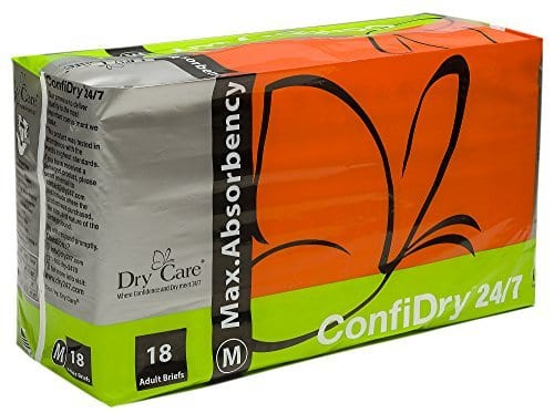ConfiDry 24/7 Dry Care Adult Diapers