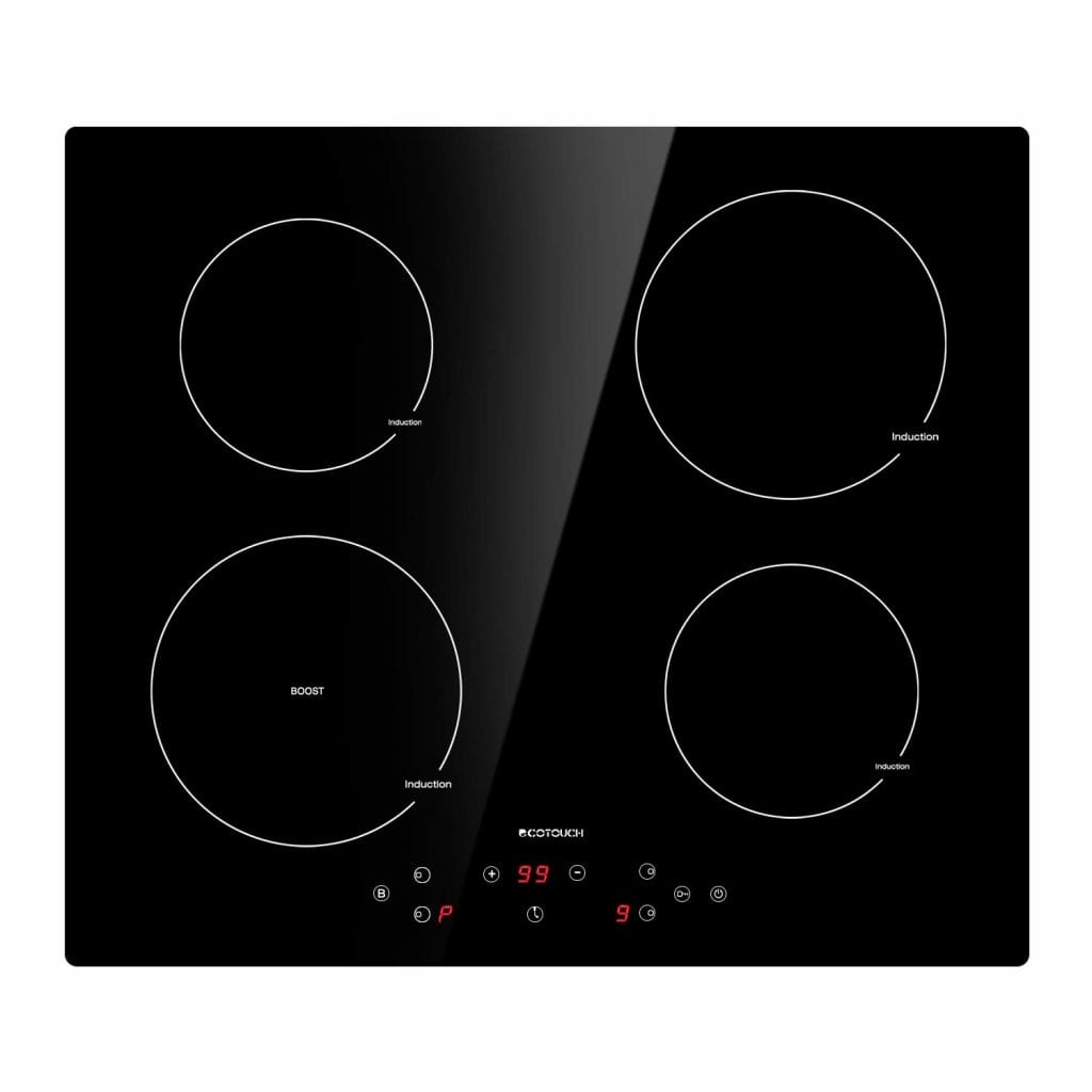 ECO TOUCH Induction Cooktop with a Booster Burner INDH604B