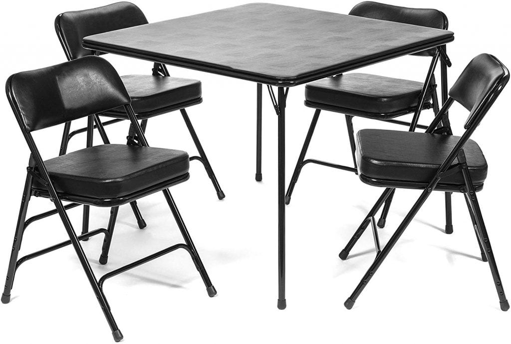 Folding Chairs and Tables 5pc. XL Series