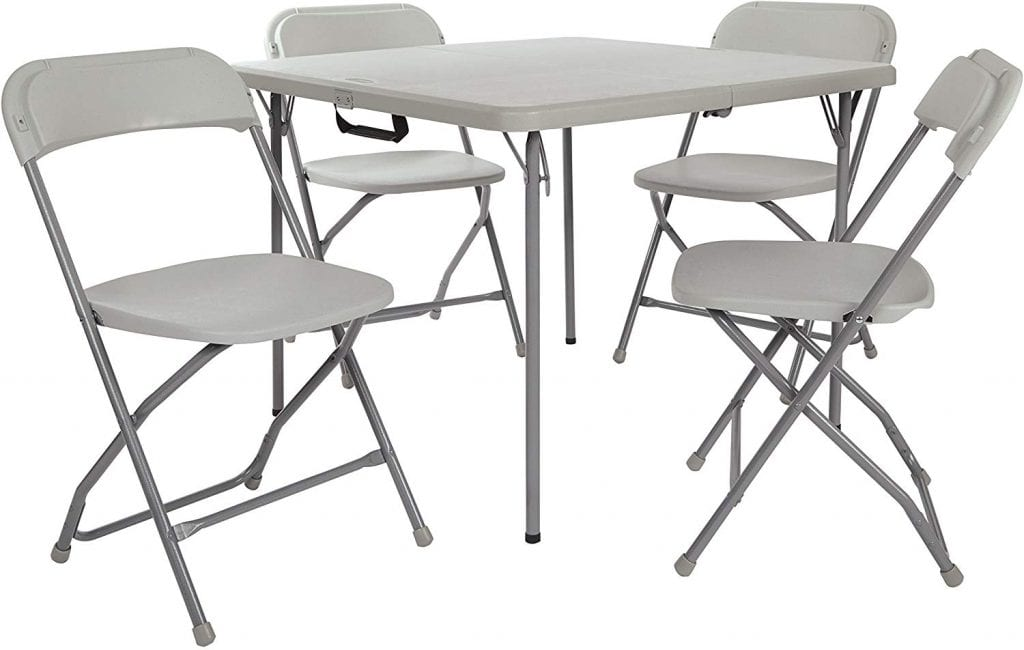 Office Star PCT-05 Table and Chair Set