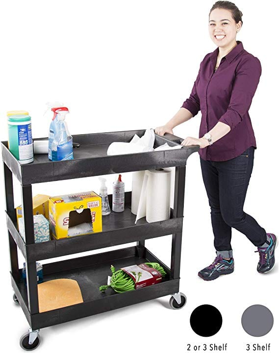 Original Tubstr 3 Shelf Utility Cart
