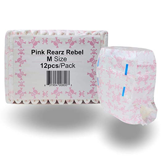 Rearz-Limited Edition Pink Rebel-Adult Diaper