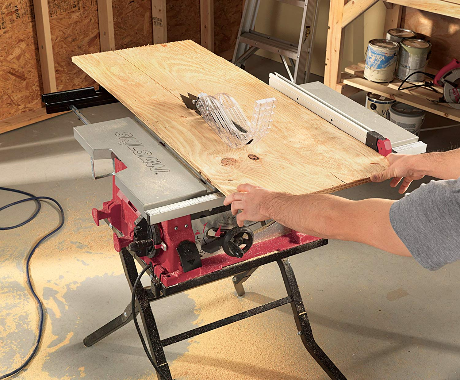 SKIL 10 Inch Folding Stand 3410-02 Table Saw