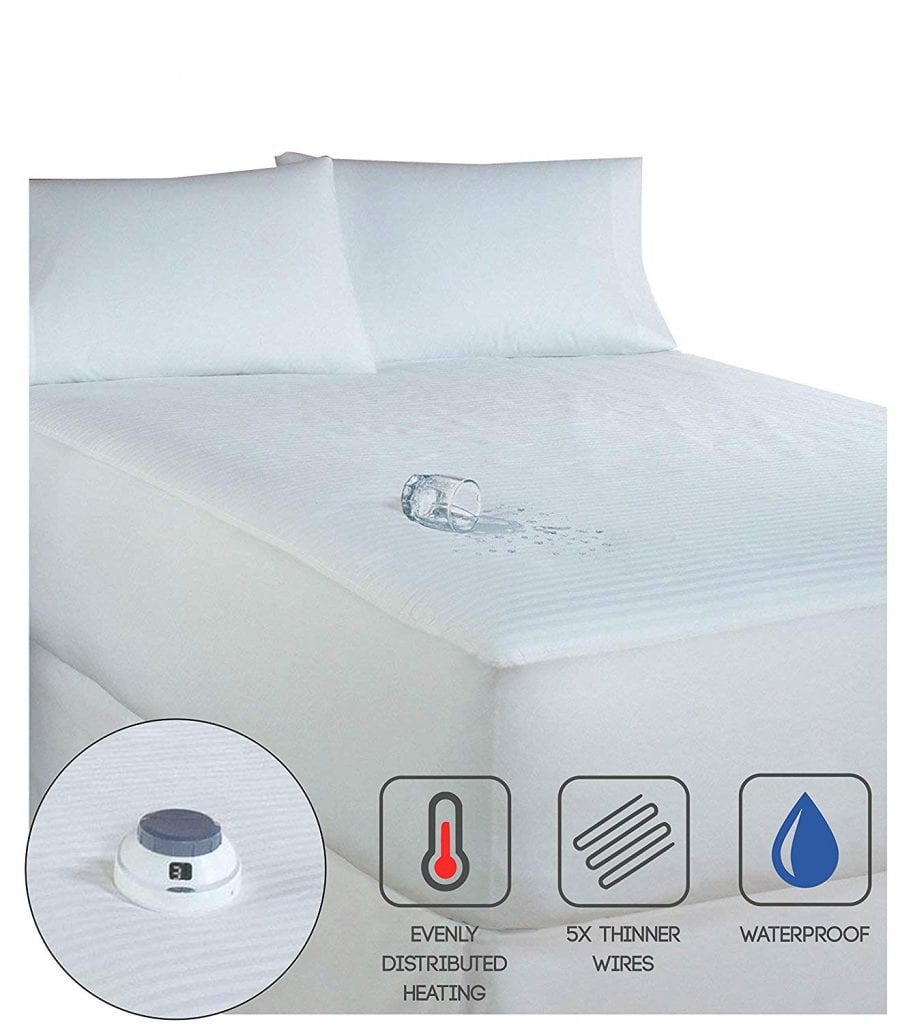 Serta Waterproof Mattress Pad w/Low Voltage Technology (Queen)